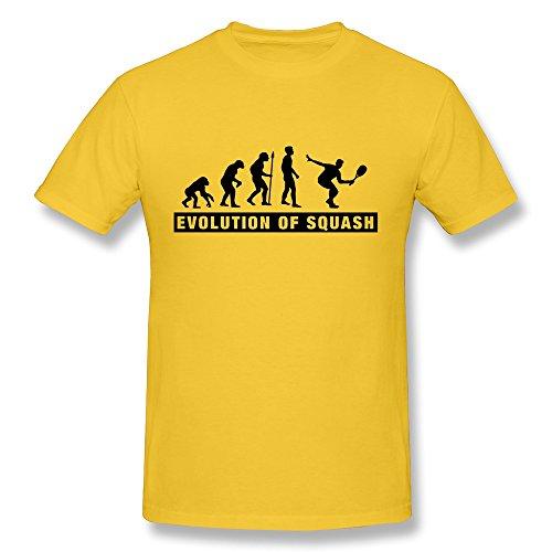Design O Neck Lovely Evolution Squash Gentleman T Shirts