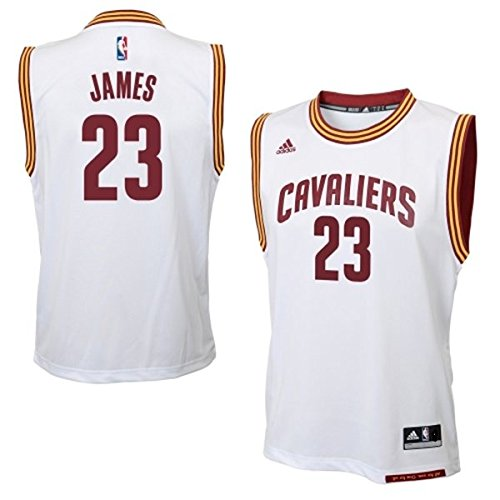 370f79aea4a2 LeBron James Cleveland Cavaliers  23 NBA Youth Home Jersey - Import ...