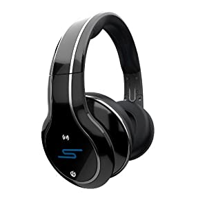 SYNC by 50 Cent Wireless Over-Ear Headphones - Black by SMS Audio