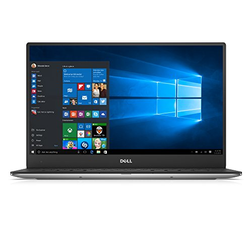 Dell xps 13 laptop silver 133 infinityedge qhd anti glare touch display intel core i5 processor 8gb ram 256gb ssd