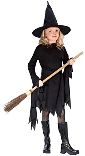 Classic Witchy Witch Black Child Costume Large (12-14)