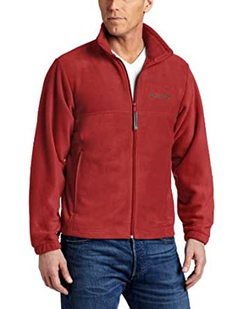 Columbia Men's Steens Mountain Full Zip Fleece Jacket, BEET, Small