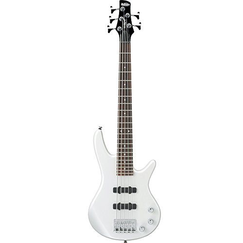 Ibanez Gsrm25 - Pearl White 5-String Mikro Short Scale Electric Bass