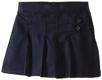 (4717) Genuine School Uniforms Girls 2 Tab Pleated Scooter Skort (Sizes 4-16) in Navy Size: 4