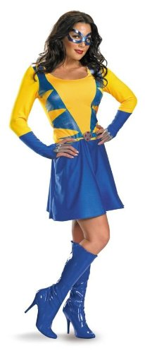 Costumes For All Occasions Dg12414B Wolverine Female Classic 8-10