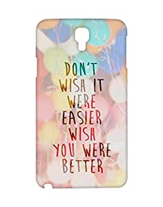 Crackndeal Back Cover for Samsung Galaxy Note 3 Neo SM-N750