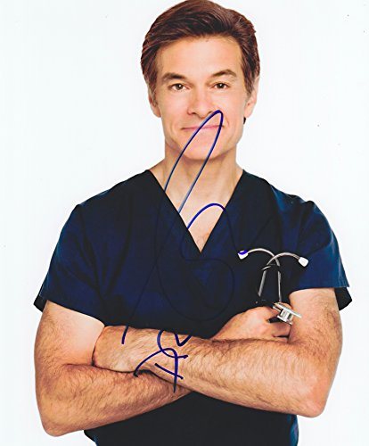 Dr. Mehmet Oz Autographed Signed 8X10 Photo Coa