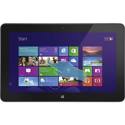 Dell Venue 11 Pro 7000 Series 11-Inch Tablet PC (1.60 GHz Intel Core i5 i5-4300Y, 8GB Memory, 256GB SSD, IPS Technology, Windows 8.1 Pro) Black (Certified Refurbished)