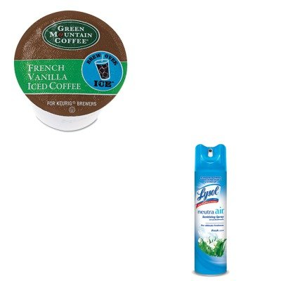 Kitgmt6832Rac76938Ea - Value Kit - Green Mountain Coffee Roasters Brew Over Ice French Vanilla Iced Coffee K-Cups (Gmt6832) And Neutra Air Fresh Scent (Rac76938Ea)