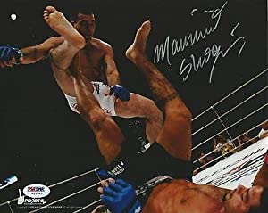 Mauricio Shogun Rua Signed UFC 8x10 Photo COA Picture Pride FC Autograph - PSA/DNA Certified - Autographed UFC Photos
