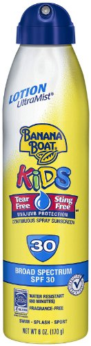 Banana Boat Kids UltraMist Kids Tear Free Sunscreen - SPF 30 - 6 oz
