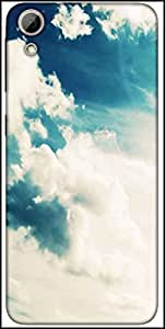 Snoogg Sunshine Clouds Designer Protective Back Case Cover For HTC Desire 626