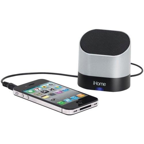 Rechargeable Mini Speaker Silv