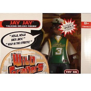 Wild Grinders Jay Jay Talking Deluxe Action Figure - 1