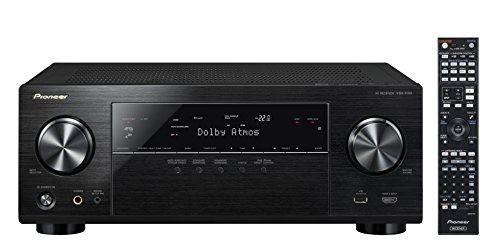 Pioneer VSX-1130-K 7.2-Channel AV Receiver with Built-In Bluetooth and Wi-Fi (Black)