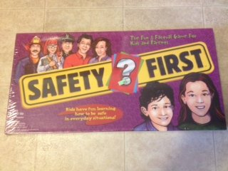 Safety First Board Game - A Fun Way to Teach Kids Safety Tips