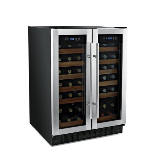 Buy Best Price Wine Enthusiast 42 Bottle Double Door Dual