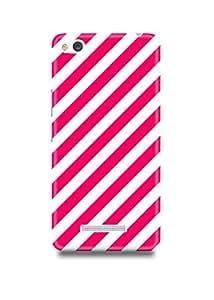 Pink Stripes Xiaomi Redmi 3s Case-701