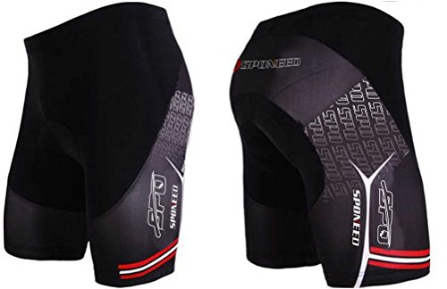 Sponeed Men's Cycle Shorts Tights Bicycle Bike Padded Short Armour Style Size Asia XL/ US L Multi Compression Cycle Short