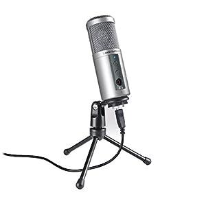 Audio-Technica ATR2100-USB Cardioid Dynamic USB/XLR Microphone by Audio-Technica