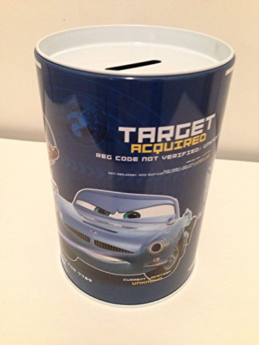 Kids Coin (Money) Bank - Disney Cars - Target Acquired - 1