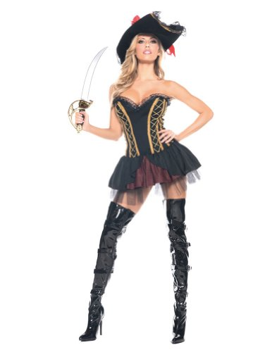 Seven Seas Pirate Adult Costume Xlg Halloween Costume