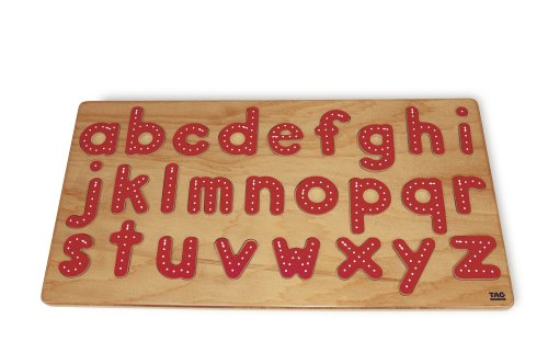 Cheap TAG Toys Traceable-Lower Case Alphabet Puzzle (B000BT91XM)