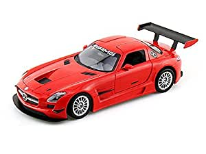 Amazon.com: Mercedes-Benz SLS AMG GT3 1/24 - RED: Toys & Games