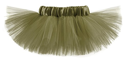 Classic Girls & Teens Army Green Tutu
