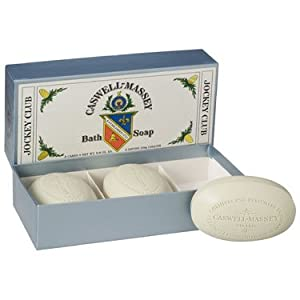 Caswell-Massey Jockey Club Bath Soap Set