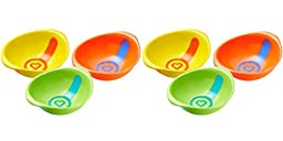 Munchkin White Hot Toddler Bowls, 6 Count