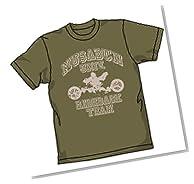 RIDEBACK ライドバック部Tシャツ モス サイズ:M