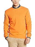 Piacenza cashmere Jersey (Naranja Claro)