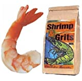 2 lbs. Fresh Jumbo Shrimp and One Bag Grits and Gravy