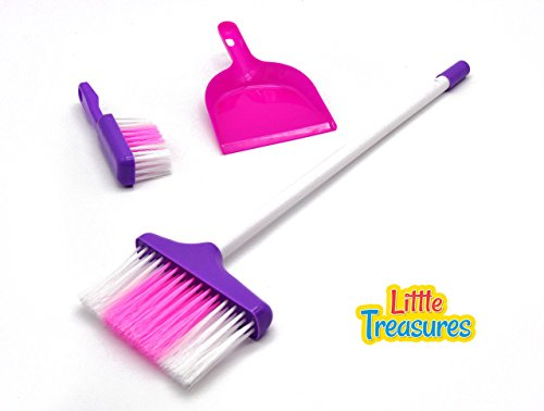 Little-Treasures-Little-Helper-3-Piece-Broom-Set-for-Ages-3-and-up-with-dustpan-hand-broom-and-long-broom