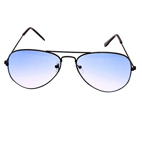 118d7cf4d 44% OFF on Younky Unisex Combo Pack of Aviator Sunglasses for Men and Women  ( Black Black - Black Shd Blue ) (CM-NEW-AV-003 ) on Amazon | PaisaWapas.com