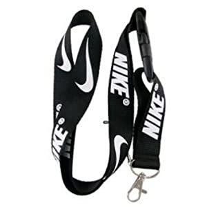 Michael Black Lanyard Keychain Holder