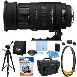 Sigma APO 50-500mm F4.5-6.3 DG OS HSM f/ Nikon AF Lens Kit Bundle