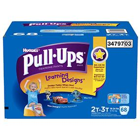 Huggies Pull Ups Learning Designs