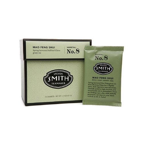 Steven Smith Teamaker - Full Leaf Green Tea Mao Feng Shui No. 8 - 15 Tea Bags