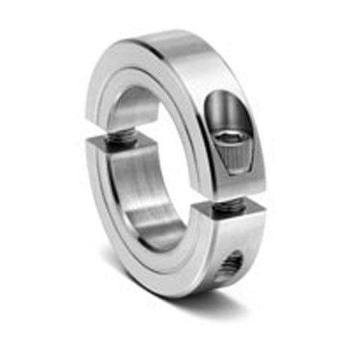 Climax metal c z two piece clamping collar zinc