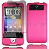 Baby Pink Legend G6 For HTC Armour Protection Hybrid Hard Case Cover+Screen Protector - PART OF JJONLINESTORE ACCESSORIES