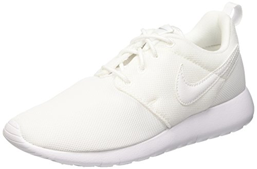 Nike Roshe One (GS), Scarpe da Ginnastica Basse Unisex - Bambini, Bianco (White/White-Wolf Grey), 36.5 EU
