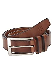 Raymond Medium Brown Leather Men's Belt