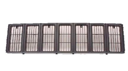 For 97-01 JEEP CHEROKEE SE/SPORT/LIMITED/COUNTRY MODEL GRILLE MATERIAL BLACK (Jeep Cherokee Grille compare prices)