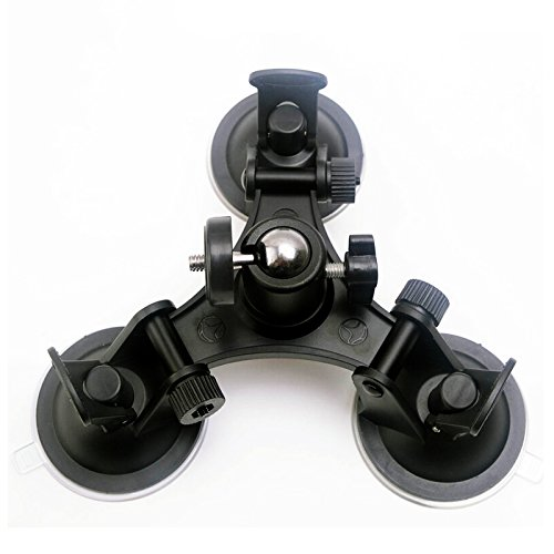 D&F Low Angle Removable Suction Cup Mount Tripod Ballhead for All GoPro Hero/ SJCAM/ Xiaomi Yi and Other Action Camera