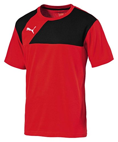 Puma Esquadra Leisure T-Shirt rot Kinder puma red-black, 128