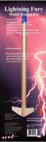 Sunward Lightning Fury Model Rocket Kit