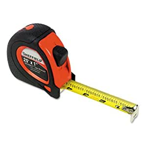 "Great Neck 58652 Sheffield ExtraMark Tape Measure, 1"" x 25 ft  (GNS58652)"
