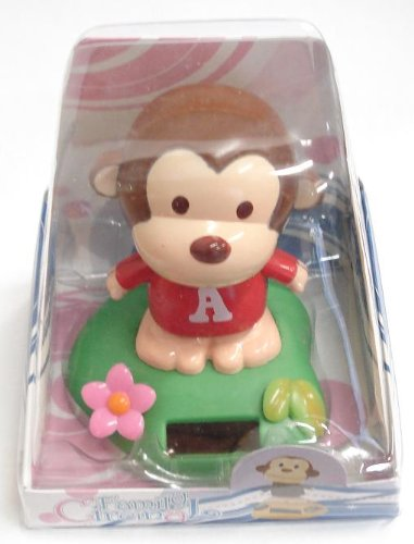 Picture of Circinal Family Monkey Solar Powered Bobble Head (Bobble Head Figures)